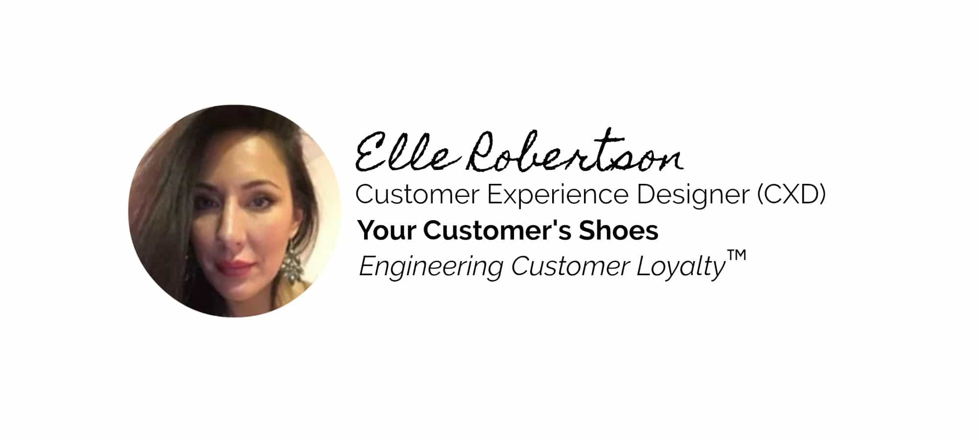 Customer Experience Designer Small Business Your Customers Shoes
