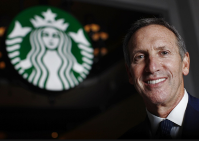 Howard Shultz CEO Starbucks