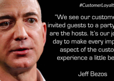 Jeff Bezos Amazon Customer Experience Quote