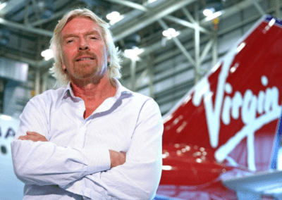 Richard Branson CEO Virgin Atlantic