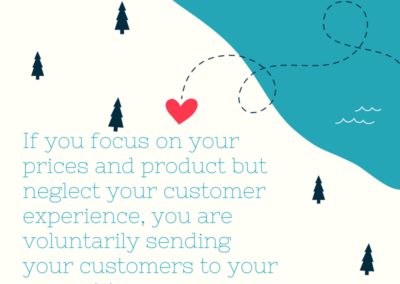Customer Experience Forest For The Trees Quote