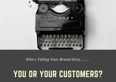 Customer Experience Quote Brand Story Your Customers Shoes
