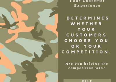 Customer Experience Quote Choose Competiton Elle Robertson