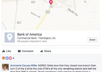Experience Bank Of America Example 7