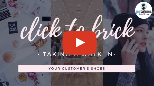 your customers shoes social media channels
