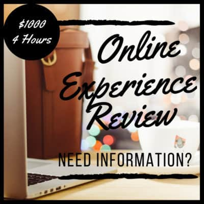 online experience review your customers shoes