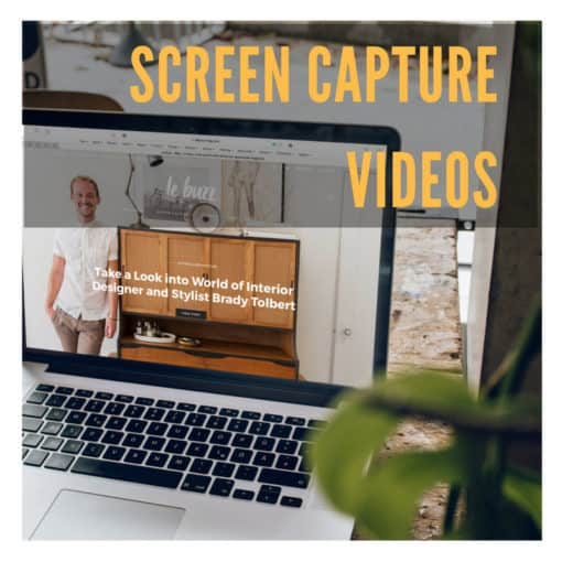 screen capture videos your customers shoes