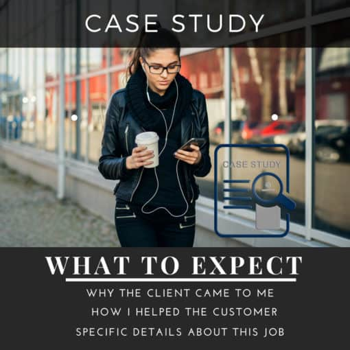 your customers shoes case study button