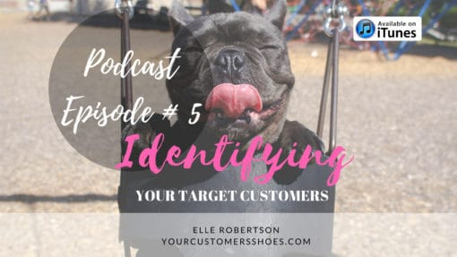 identifying your target customers your customers shoes podcast episode 5 final