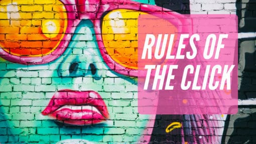 rules of the click your customers shoes blog