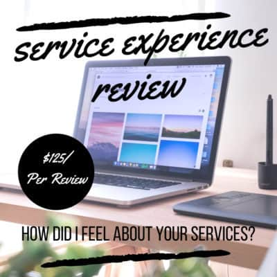 service experience review your customers shoes